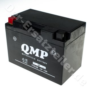 QMP Vergl-Nr: YTZ12S GEL-Batterie 12V/11AH 150x87x110mm